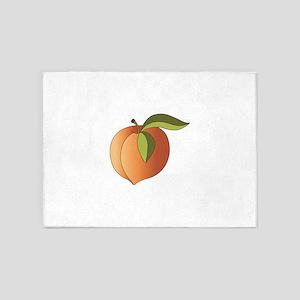 Ripe Peach 5'x7'Area Rug