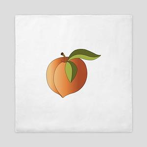 Ripe Peach Queen Duvet