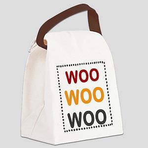 OYOOS WooWooWoo design Canvas Lunch Bag