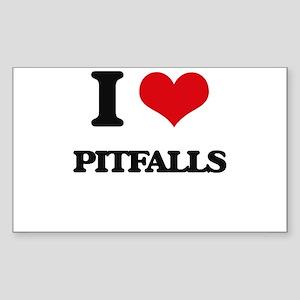 I Love Pitfalls Sticker
