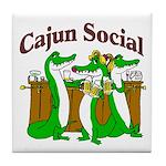 Cajun Tile Coaster