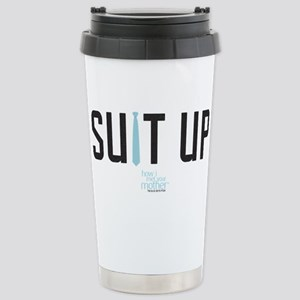 HIMYM Suit Up Stainless Steel Travel Mug