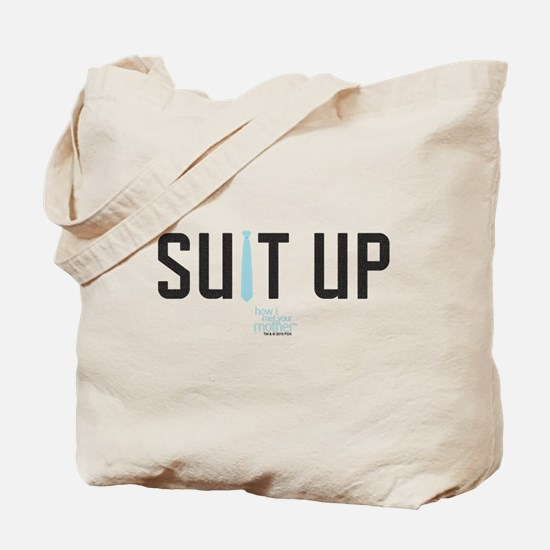 HIMYM Suit Up Tote Bag