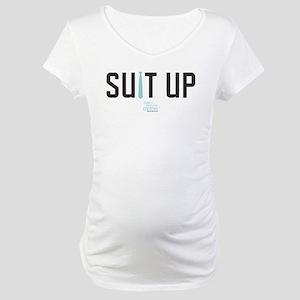 HIMYM Suit Up Maternity T-Shirt