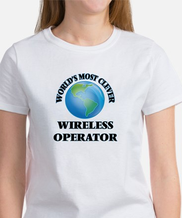 World's Most Clever Wireless Operator T-Shirt