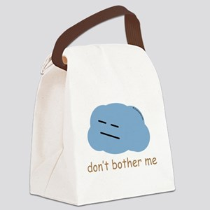 """""""Don't bother me"""" Canvas Lunch Bag"""
