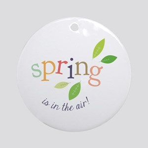 Spring In The Air Ornament (Round)