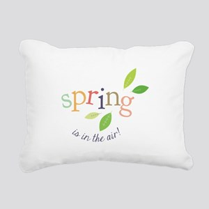 Spring In The Air Rectangular Canvas Pillow