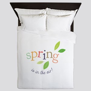 Spring In The Air Queen Duvet