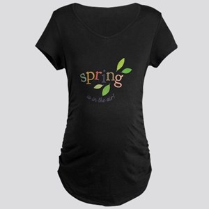 Spring In The Air Maternity T-Shirt