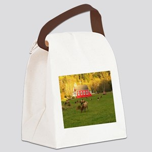 Thanksgiving Canvas Lunch Bag