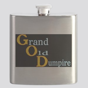 Grand Old Dumpire Flask