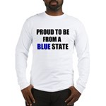 Blue State Long Sleeve T-Shirt