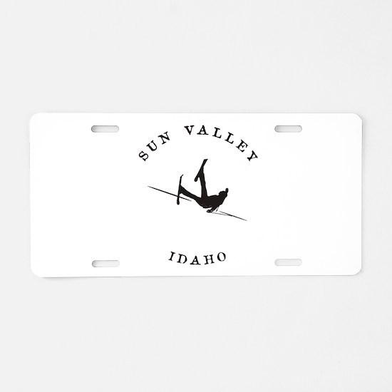 Sun Valley Idaho Funny Falling Skier Aluminum Lice