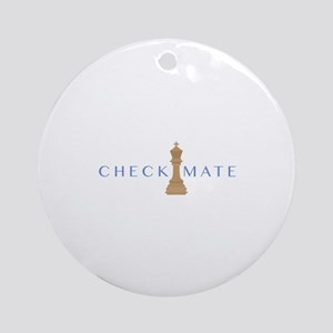 Checkmate Ornament (Round)