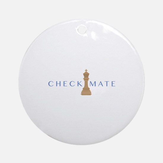 Checkmate Ornament (Round)