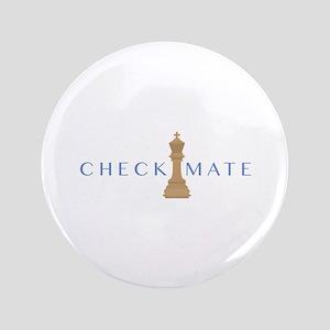 """Checkmate 3.5"""" Button"""