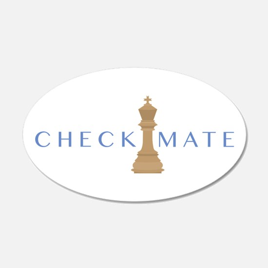 Checkmate Wall Decal