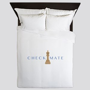 Checkmate Queen Duvet