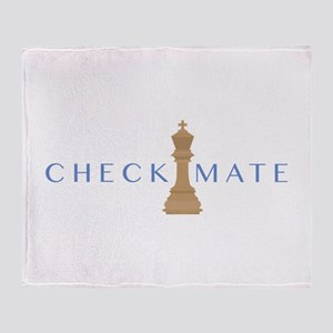 Checkmate Throw Blanket