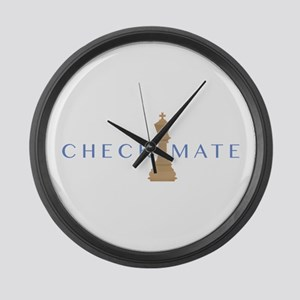 Checkmate Large Wall Clock