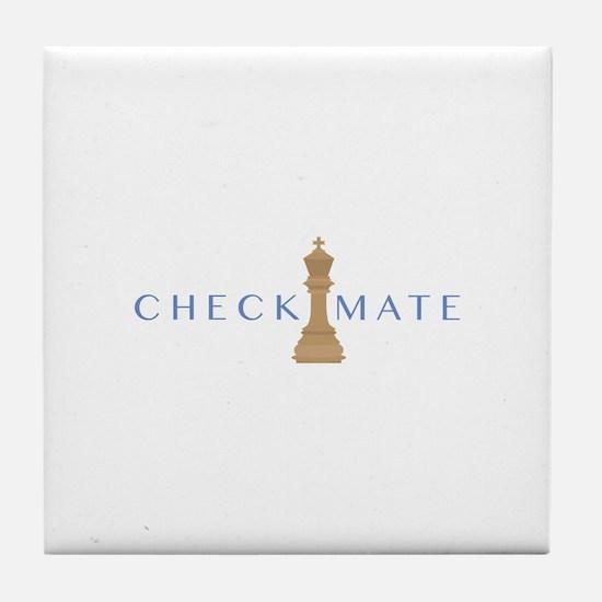 Checkmate Tile Coaster