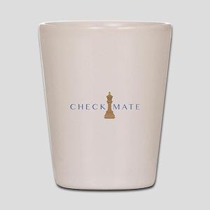 Checkmate Shot Glass