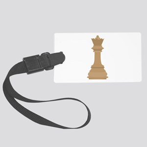 Chess Queen Luggage Tag