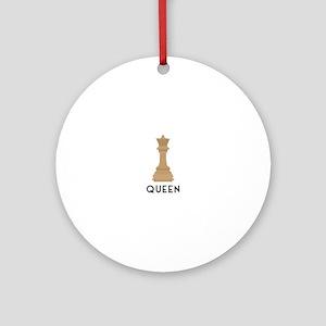 QUEEN Ornament (Round)