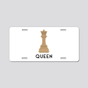 QUEEN Aluminum License Plate