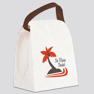 No Rescue Needed Canvas Lunch Bag