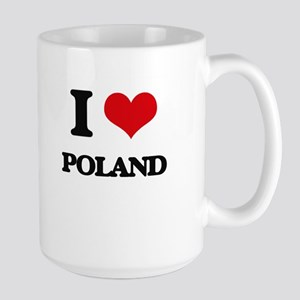 I Love Poland Mugs