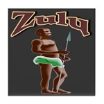 Zulu Tile Coaster
