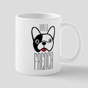 Viva La French Bulldog Mugs