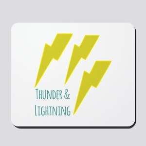 lightning_thunder and lightning Mousepad