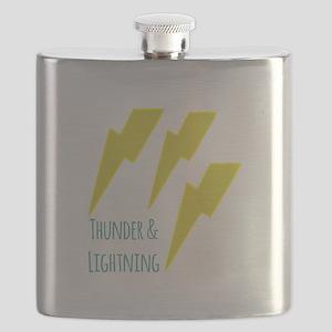 lightning_thunder and lightning Flask