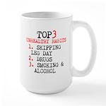 Never Skip Legs Mugs