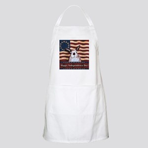 Rabbit Independence day BBQ Apron