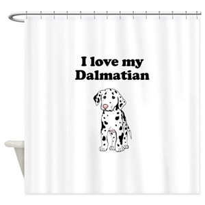 Dalmatian Puppies Shower Curtains