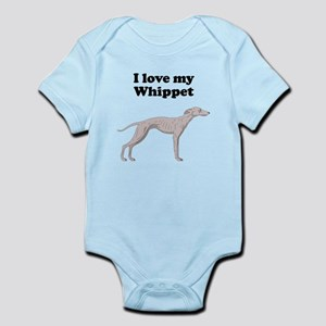 I Love My Whippet Body Suit