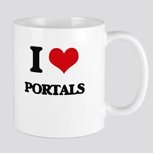 I Love Portals Mugs