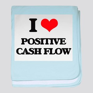 I love Positive Cash Flow baby blanket