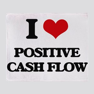 I love Positive Cash Flow Throw Blanket