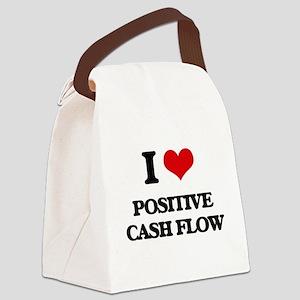 I love Positive Cash Flow Canvas Lunch Bag
