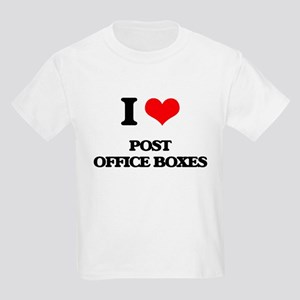 I Love Post Office Boxes T-Shirt