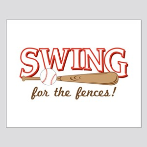Swing Fences Posters