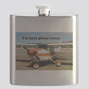 I'm just plane crazy: high wing Flask