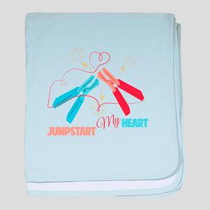My Heart baby blanket