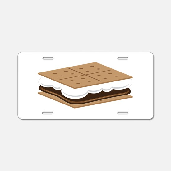 SMore Cracker Aluminum License Plate