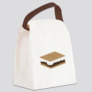 SMore Cracker Canvas Lunch Bag